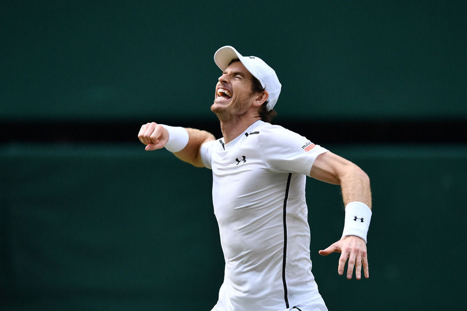 Andy Murray klopt Milos Raonic in mannenfinale Wimbledon