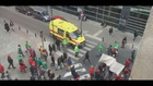 Betogers in Brussel blokkeren ambulance
