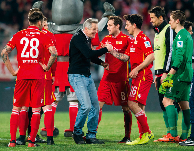 Supporters Union Berlin: 'Scheisse, wij promoveren'