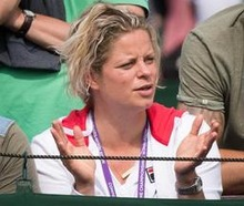 Kim Clijsters wordt officieel opgenomen in Hall of Fame in Newport