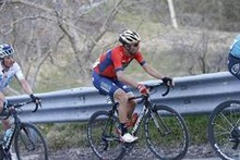 Vincenzo Nibali juicht in Primavera
