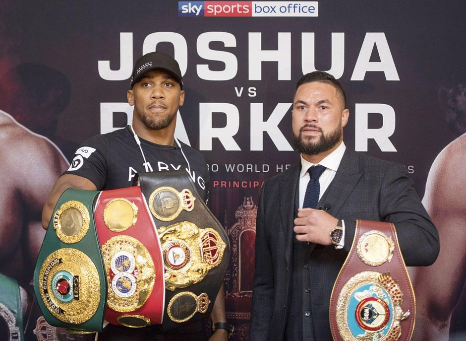Fight night in Cardiff: Joshua vs Parker