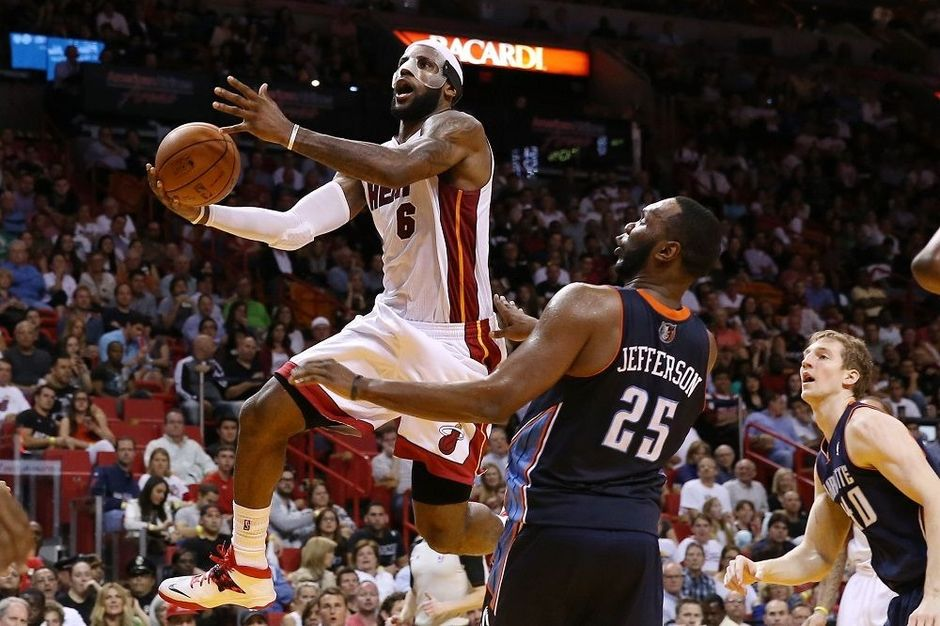 Nba lebron james scoort 61 punten andere sporten for Interieur sport lebron james