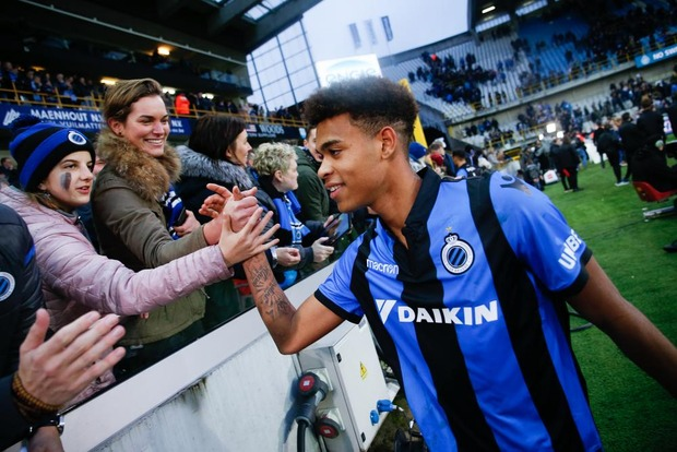 Club Brugge-talent Cyril Ngonge schitterde ook al in de Youth League