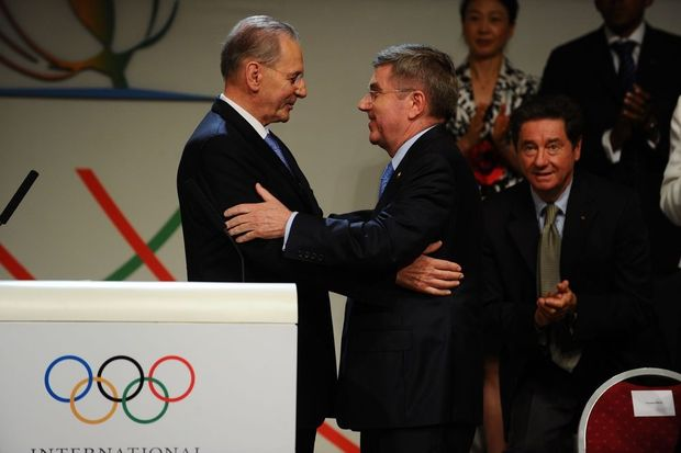Thomas Bach volgt Jacques Rogge op als IOC-voorzitter