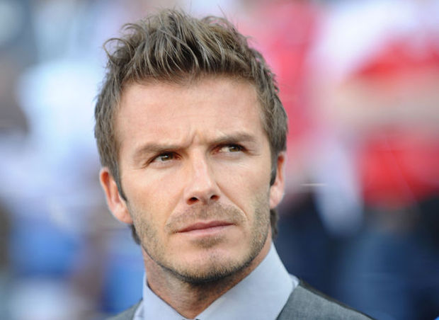 David Beckham gaat door het lint (video)
