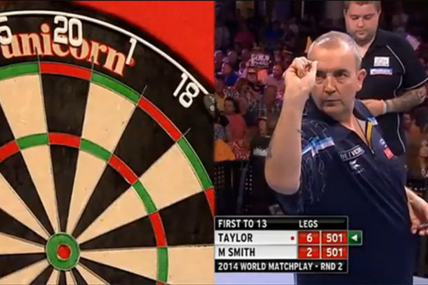 Video: Phil Taylor lukt '9-darter'