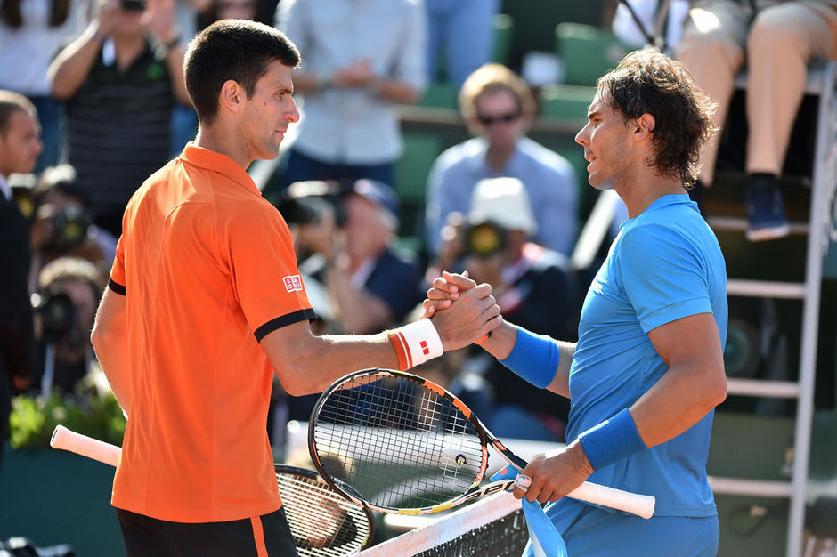 Video: de epische rally tussen Nadal en Djokovic op Roland Garros