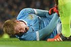 Manager De Bruyne: 'Kevin is optimistisch na blessure'